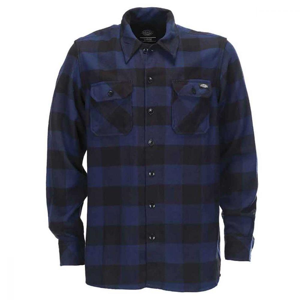 Dickies Sacramento Skjorte Shirt Blue