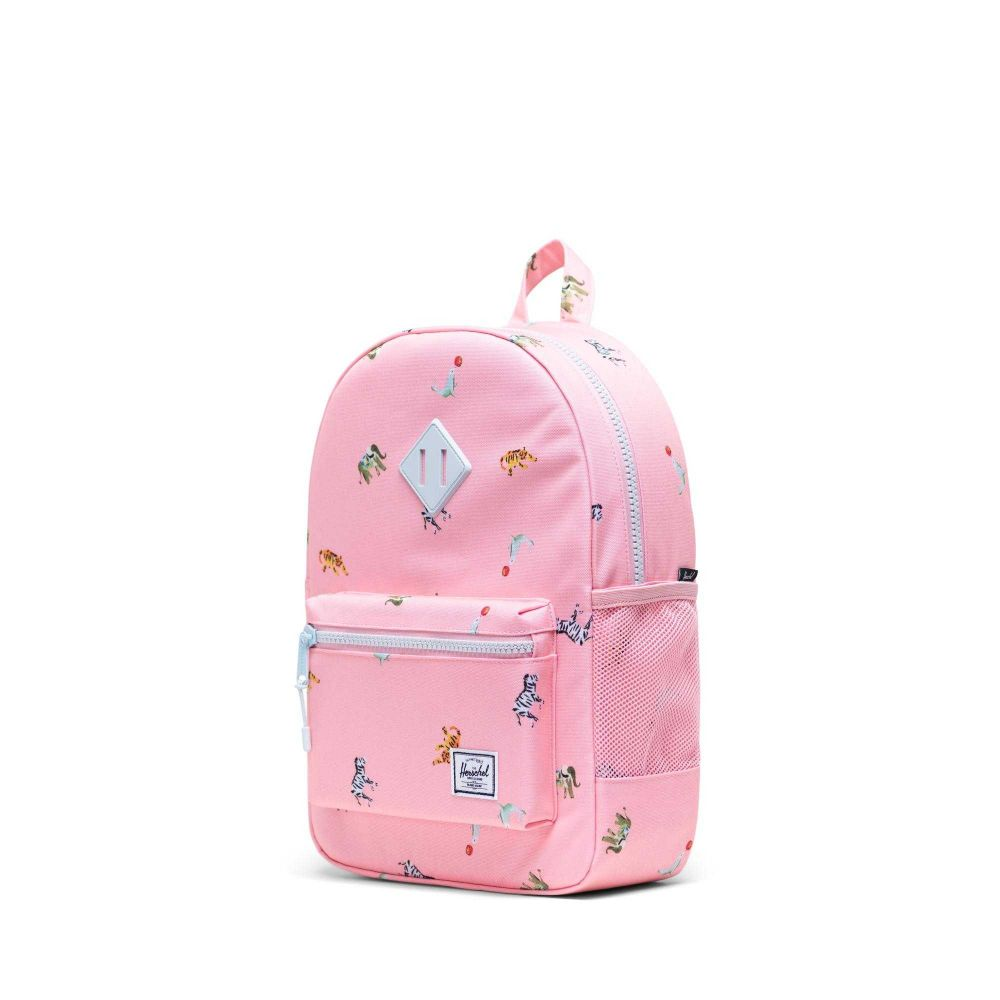 Herschel Heritage Rygsæk Youth Candy Pink Circus Animals 16L