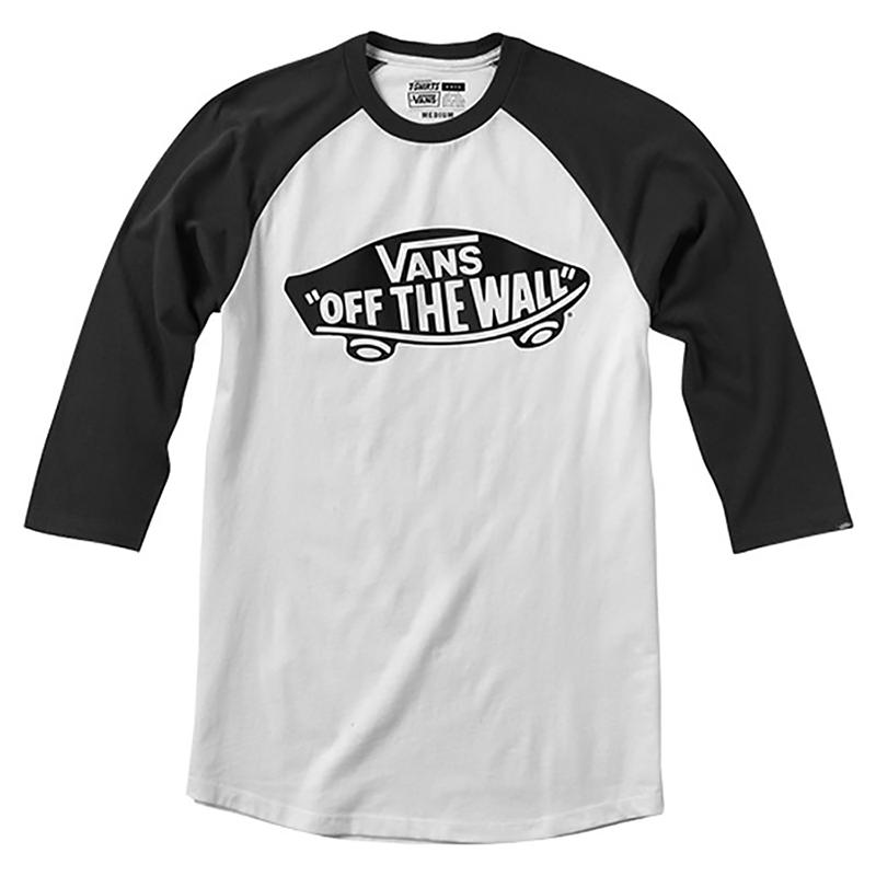 Vans Classic Otw Raglan T-shirt  Børn Hvid/Sort