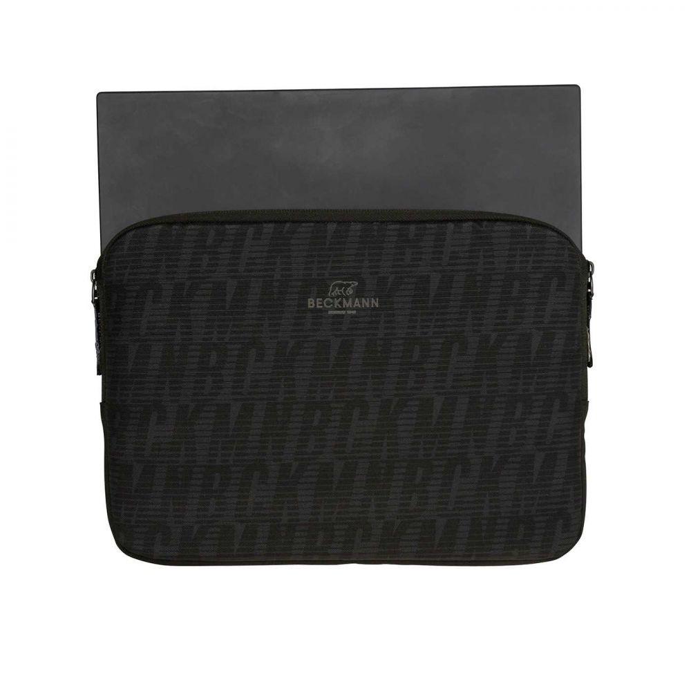 Beckmann Tablet Sleeve 14″, Sort