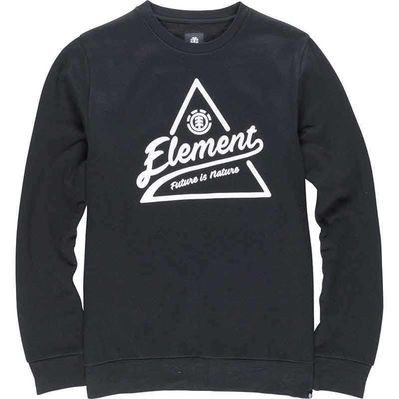 Element Ascent Crew Flint Black