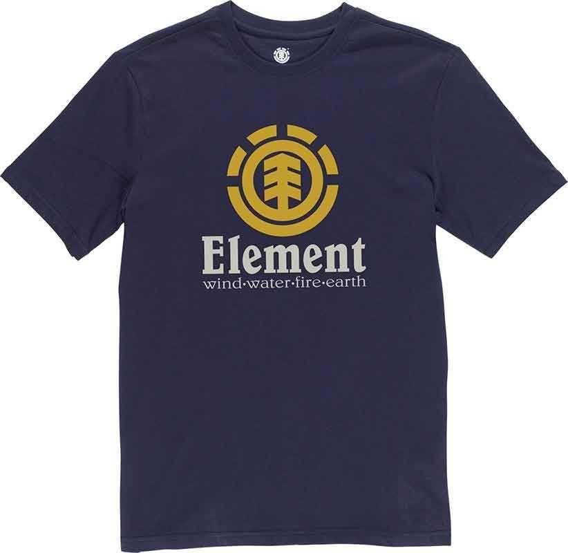 Element T-shirt Vertical SS Eclipse Navy