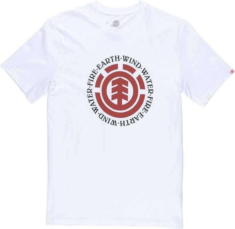 Element Seal Kortærmet T-Shirt Optic Hvid