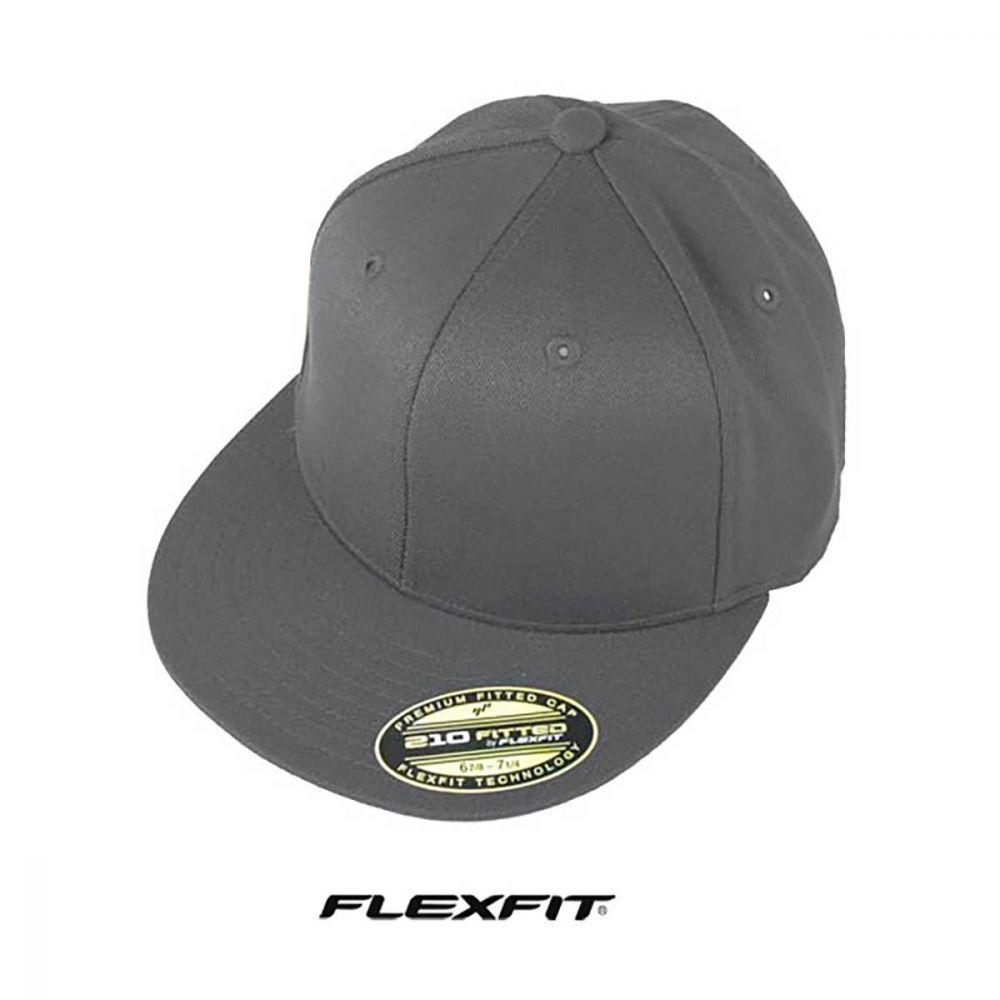 Flexfit Flatbrim Black-57-60 CM.