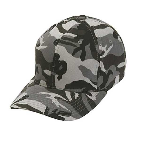 Flexfit Cap Camouflage Silver-57-60 CM.