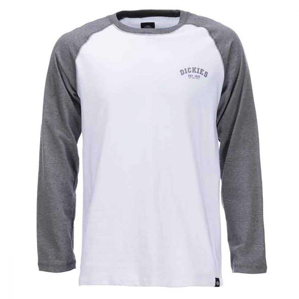 Dickies Baseball T-Shirt Mørk Grå Melange