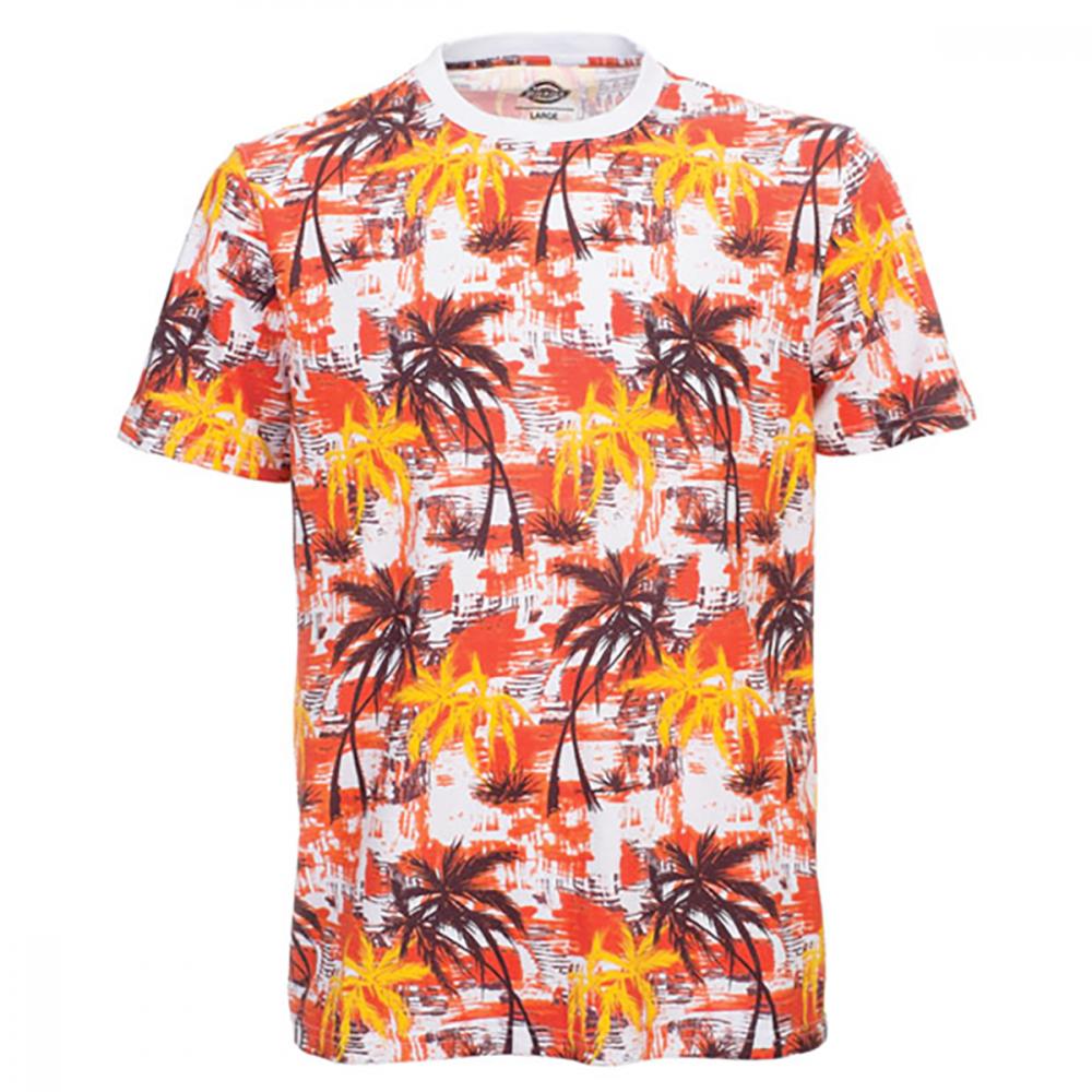 Dickies Honolulu Kortærmet T-shirt Rød