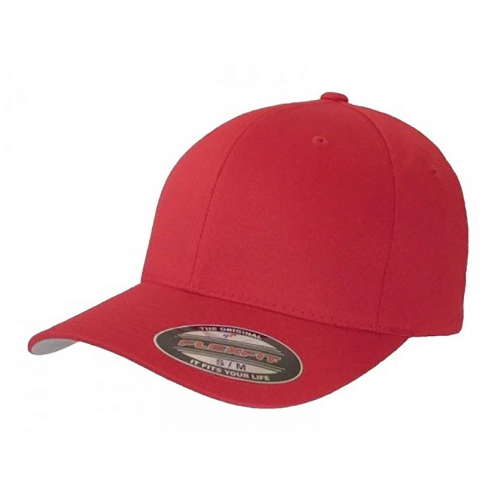 Flexfit Classic Cap Red-57-60 CM.