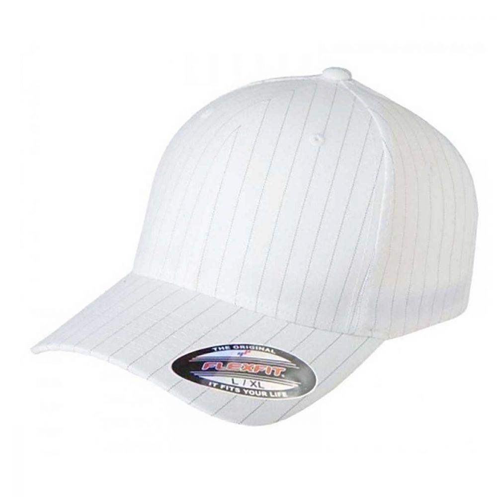 Flexfit Pinstripe Cap White/navy-54-58 CM.