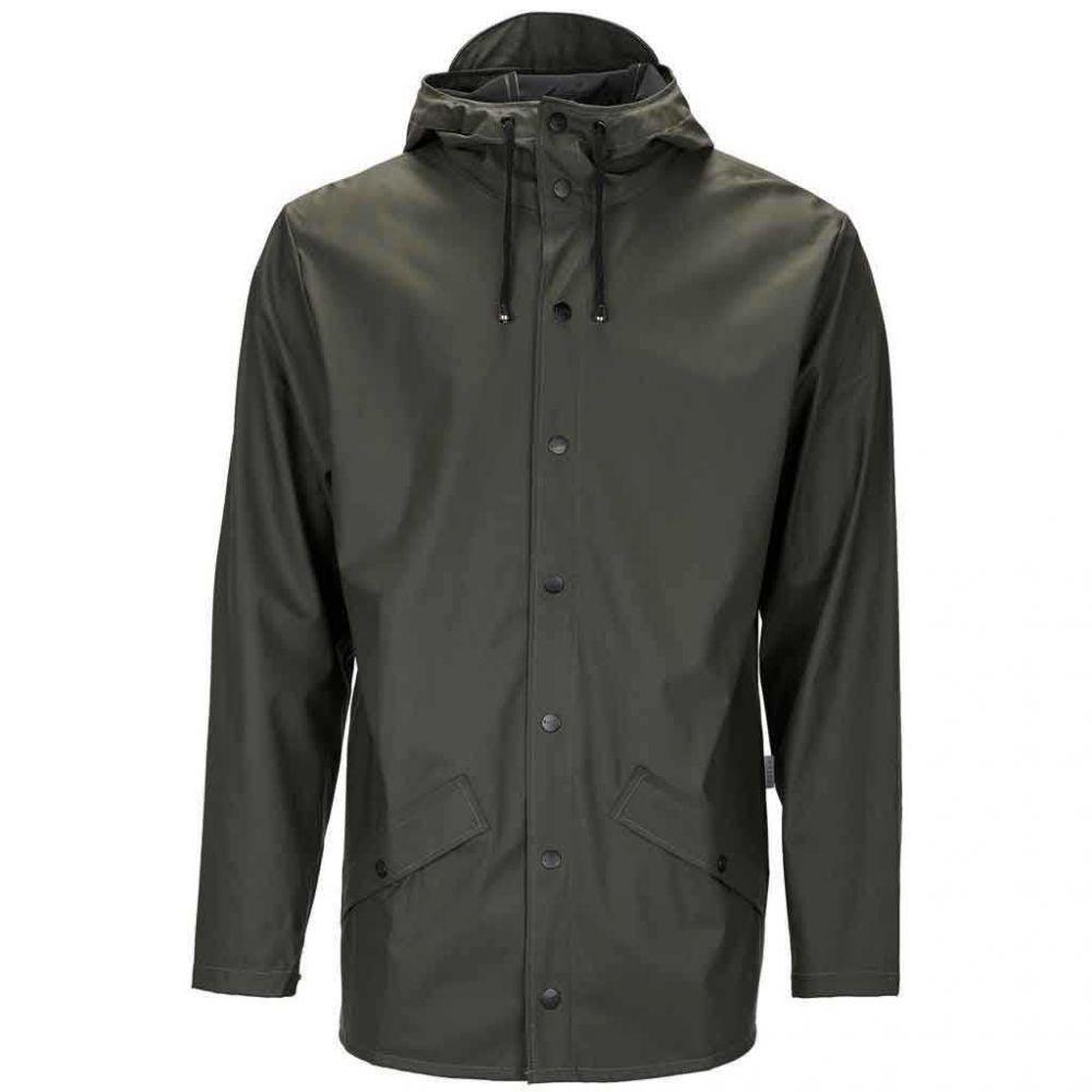 Rains Jacket Black-L/XL