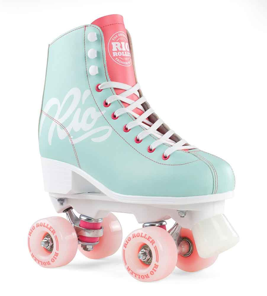 Rio Roller Side By Side Script Teal Coral