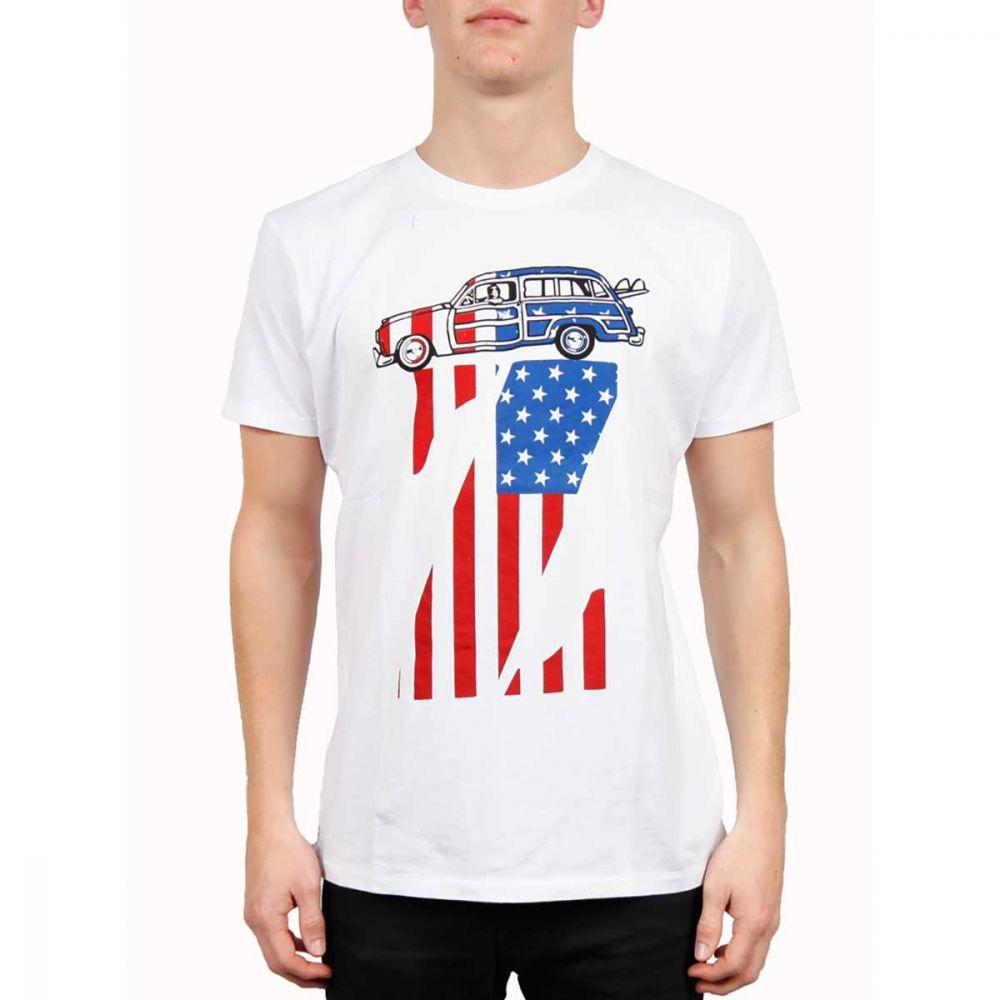Jimmy'z AmericanZ Tee White