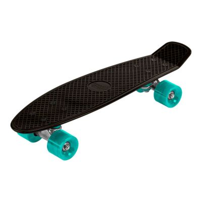 "Streetsurfing Beach Skateboard 22"" Sort/Turkis"