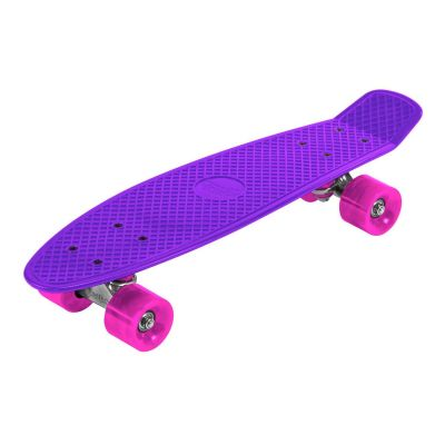 "Streetsurfing Beach Skateboard 22"" Lilla/Pink"