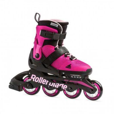 Rollerblade Microblade Pink Bubblegum - Justérbar Børne Rulleskøjte