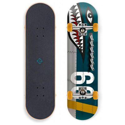 Streetsurfing Skateboard Shark Fire 7.75 x 31