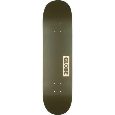 Globe Goodstock Skateboard Deck Fatgreen 8.25