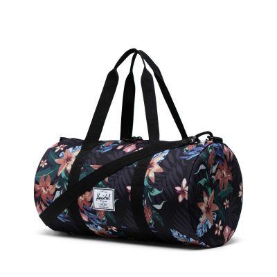 Herschel Sutton Duffel Bag Summer Floral Black