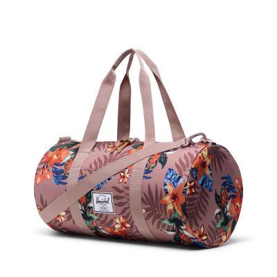 Herschel Sutton Duffel Bag Summer Floral Ash Rose