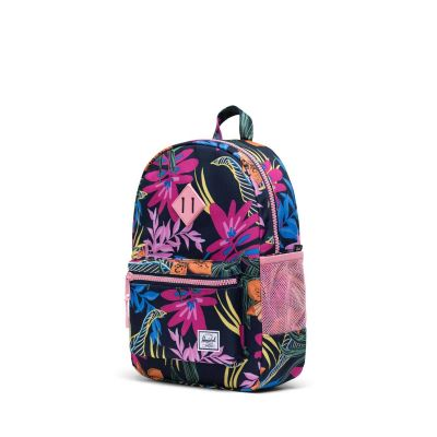 Herschel Heritage Rygsæk Youth Jungle Floral Peacoat Peony 16L