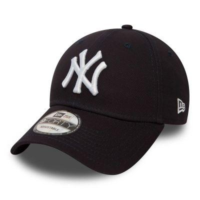 New Era Cap 9Forty New York Yankees Navy/Hvid