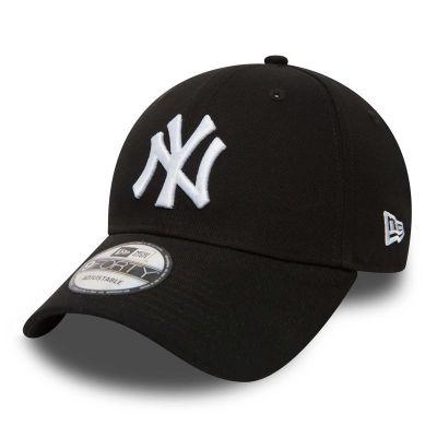 New Era 9Forty New York Yankees Black White