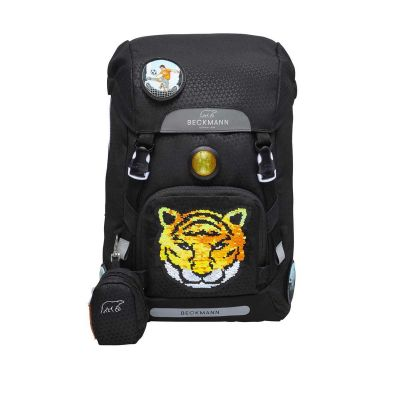 Beckmann Skoletaske 22L Tiger team