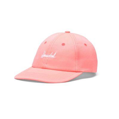 Herschel Cap Sylas Kids Neon Pink-White