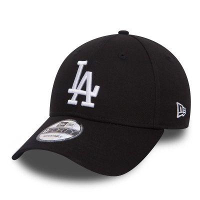New Era 9Forty Los Angeles Dodgers Black White