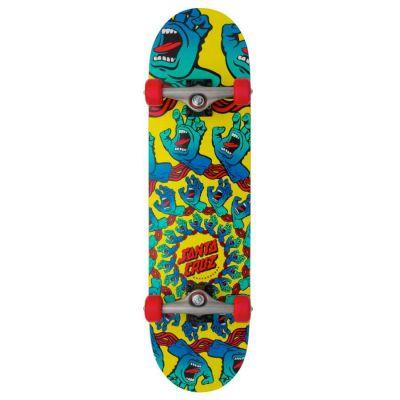Santa Cruz Skateboard Mandala Hand Full 8.25 x 31.5
