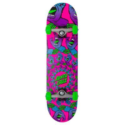 Santa Cruz Skateboard Mandala Hand 7.75 x 30.0