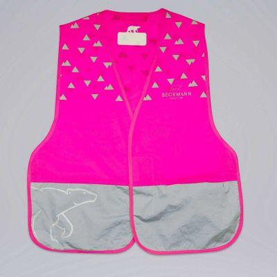 Beckmann Refleksvest Pink