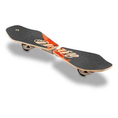 Streetsurfing Waveboard Wood Deck Abstrakt