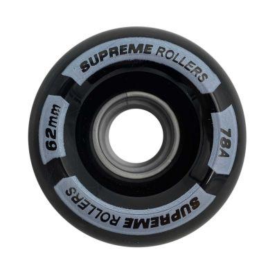 Supreme Rollers Side By Side Hjul 62mm/78A Sort