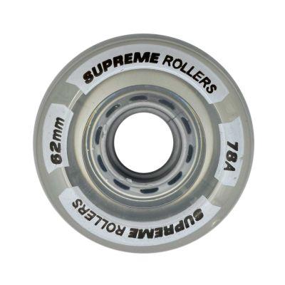 Supreme Rollers Side By Side Hjul 62mm/78A Klar