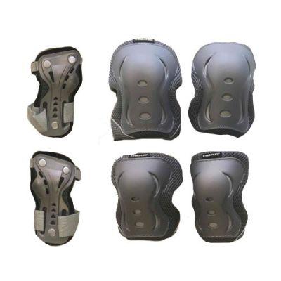 HEAD 3-pak Beskyttelsessæt Grå