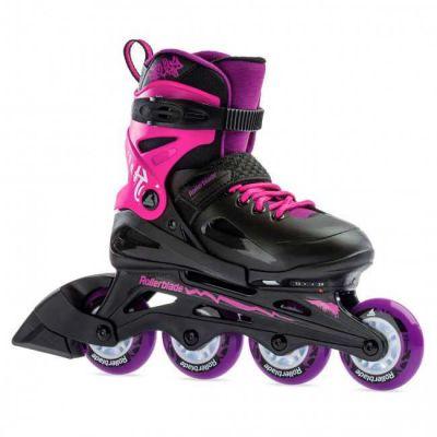 Rollerblade Fury G Inline Rulleskøjte Sort/Pink