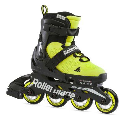 Rollerblade Microblade SS Inliner Rulleskøjte Neon Gul/Sort
