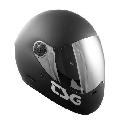 TSG Pass Solid Color Mat Black