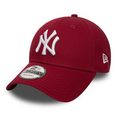 New Era 9Forty New York Yankees Cardinal Red
