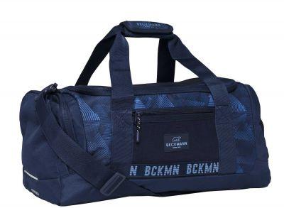 Beckmann Taske Sportstaske Duffel Blue Quartz