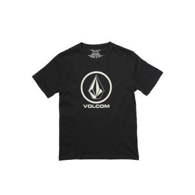 Volcom T-shirt til Børn Crips Stone Sort