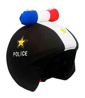 Coolcasc Hjelmovertræk LED Politi