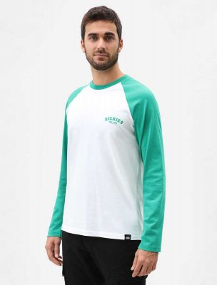 Dickies Baseball Langærmet T-shirt Emerald