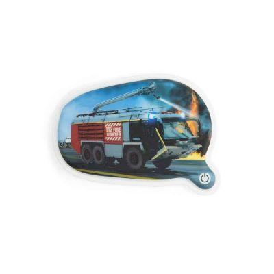 Ergobag Mærker/Patches Kletties LED Brandbil