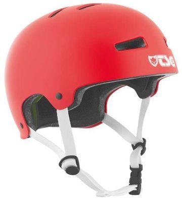TSG Evolution Skate/BMX Hjelm Satin Fire Red