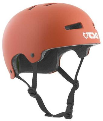 TSG Evolution Solid Color Satin Rust Red