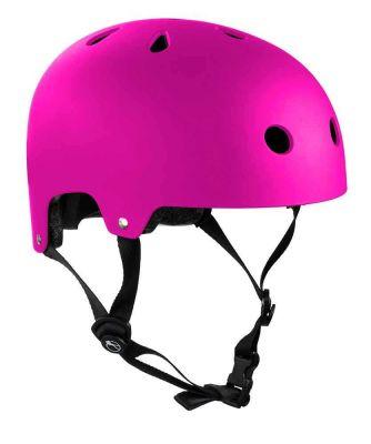 SFR Essentials Hjelm Mat Fluo Pink