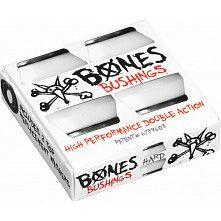 Bones Wheels Bushing Hardcore Hard White Pack 96A