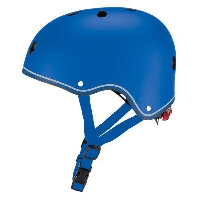 Globber Primo Cykelhjelm m/LED-lys Blå